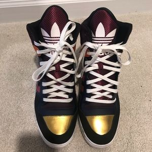 Adidas Limited edition wedge high tops